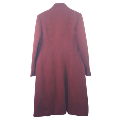 Max Mara Wollmantel in Rot