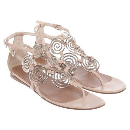 Alaïa Sandals with application