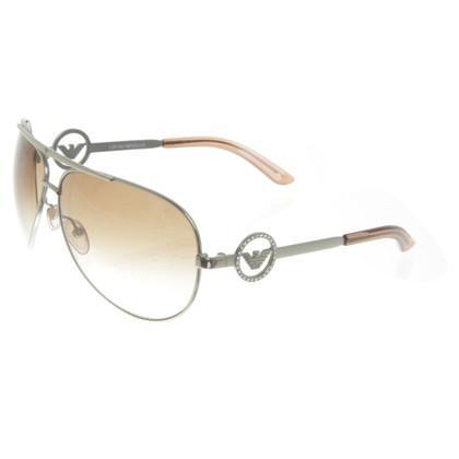 Armani Sonnenbrille in Braun/Silber