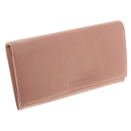 Coccinelle Leather wallet in rose