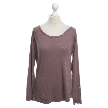 Juvia Wool top in Lilac