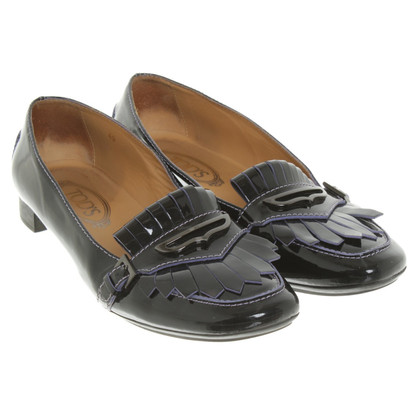 Tod's Patent leather loafers