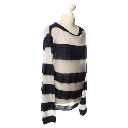 Acne Gebreide trui met streeppatroon