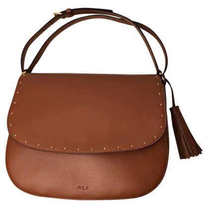 Ralph Lauren Shoulder bag with rivets