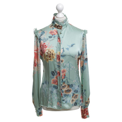 Roberto Cavalli Blouse with a floral pattern
