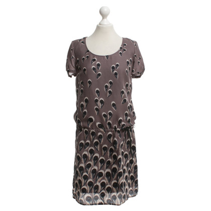 Set Silk dress with pattern