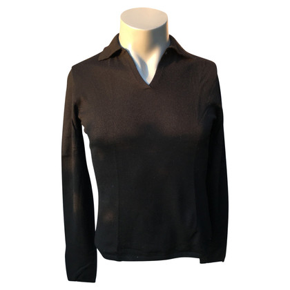 Repeat Cashmere Pullover in Schwarz