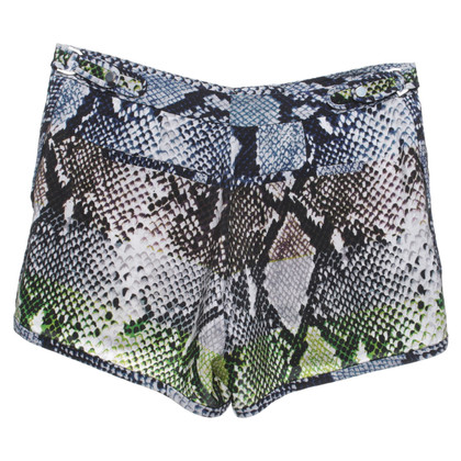 "Diane von Furstenberg Shorts ""Tiffany"" with snake print"