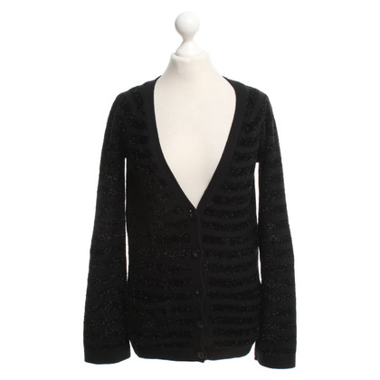 Juicy Couture Strickjacke in Schwarz