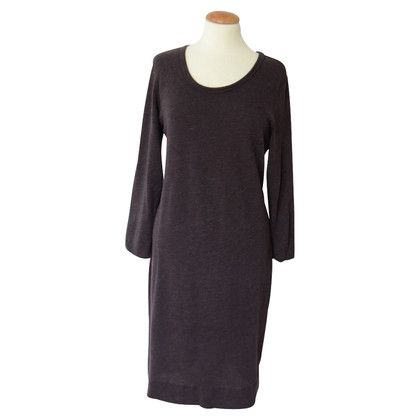 James Perse Brown sweater dress