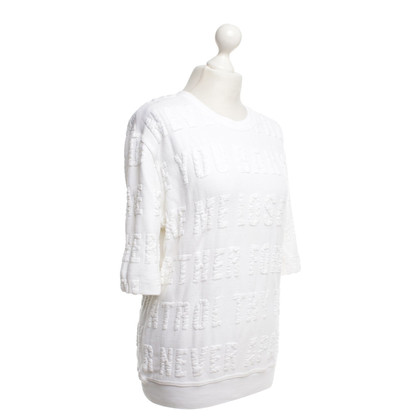 Sandro Sweaters in white