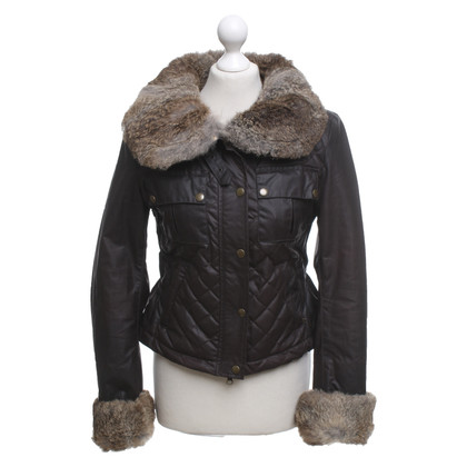 Belstaff Jacket with rabbit fur trim