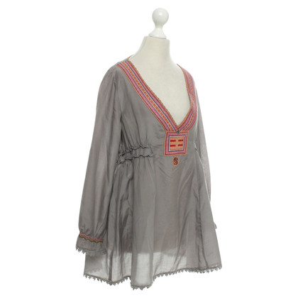 Odd Molly Tunic in grey