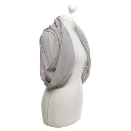 Patrizia Pepe Open blouse in grey