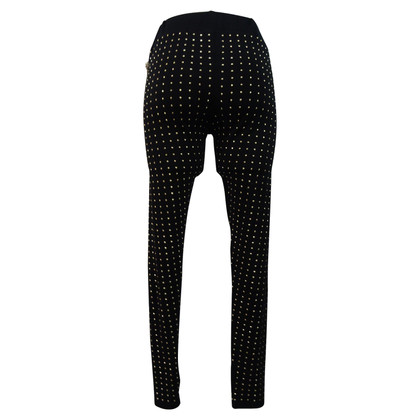 Philipp Plein Leggings with studs trim