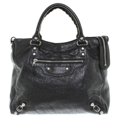 "Balenciaga ""City Bag"" in black"