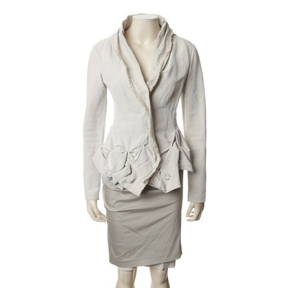 DKNY Costume in cream-grey