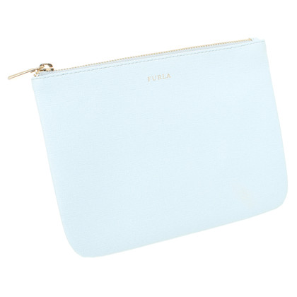 Furla clutch in ice blue