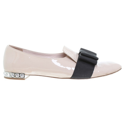 Miu Miu Slippers in Nude