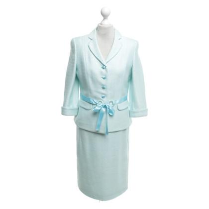 Rena Lange Costume in light turquoise