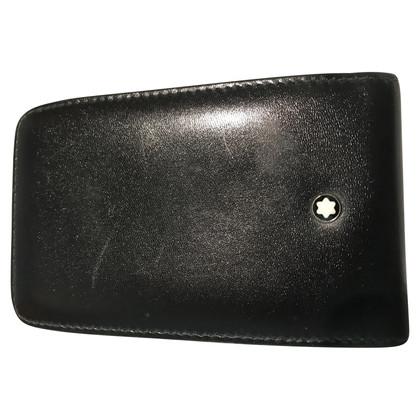 Mont Blanc Leather BlackBerry Case