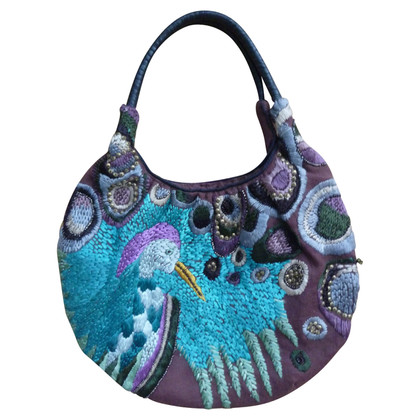 Antik Batik Borsa a mano in multicolor