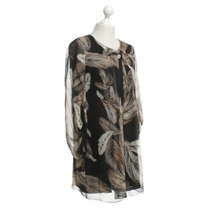 Diane von Furstenberg Dress with feather print