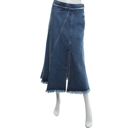 Max Mara Gonna di jeans in blu