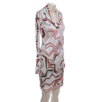 Emilio Pucci Kleid mit grafischem Muster