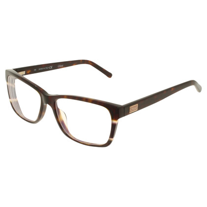 Chloé Glasses with Havana pattern