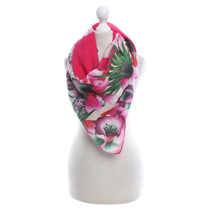Kenzo Scarf with floral pattern