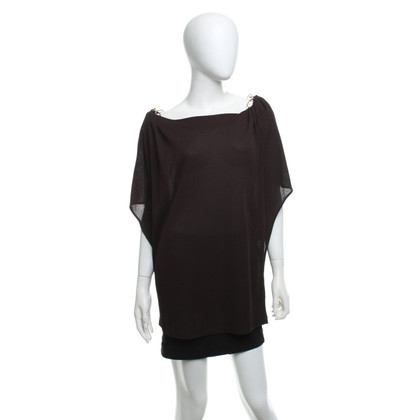 Escada top in brown