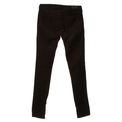 Adriano Goldschmied Corduroy pants in Brown