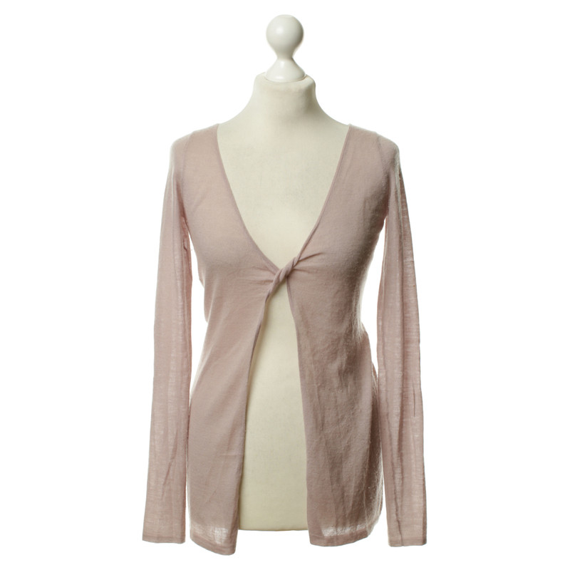 Dear Cashmere Lilac cashmere Cardigan - Buy Second hand Dear ...