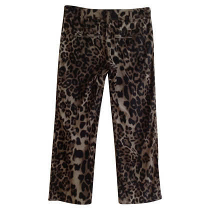 Marc Cain trousers with leopard print