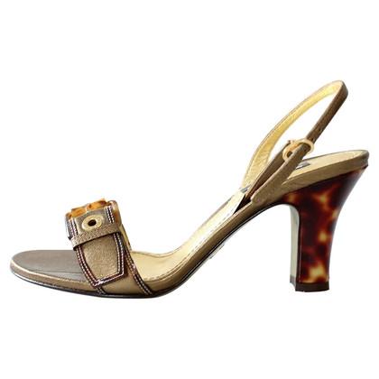 Dolce & Gabbana Bronze sandal