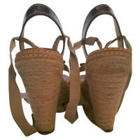 Prada sandali con zeppa
