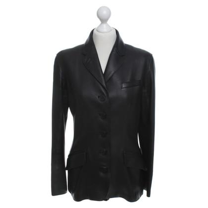 Hermès Jasje van het leer in zwart