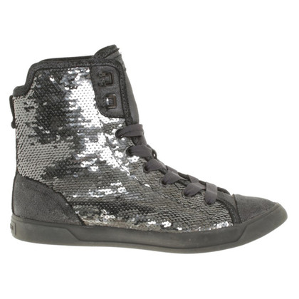 Michael Kors High-top sneakers with sequins