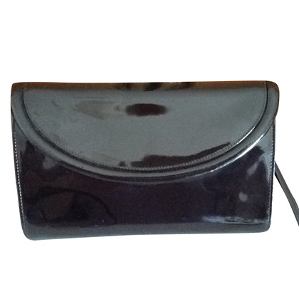 Bally Patent leather clutch