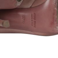 Miu Miu Open toe heels pumps