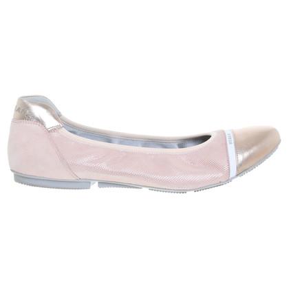 Hogan Ballerinas in Rosé