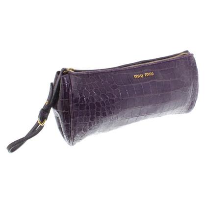 Miu Miu Pochette in purple