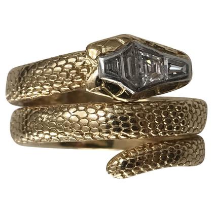 Cartier Snake Ring 18K
