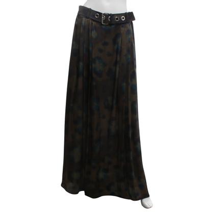 Kenzo Silk skirt with print