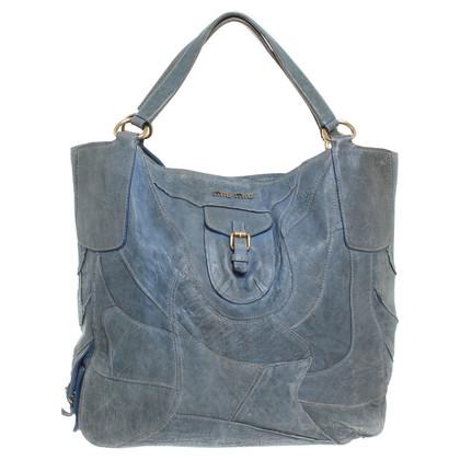 Miu Miu Tas in blauw-grijs