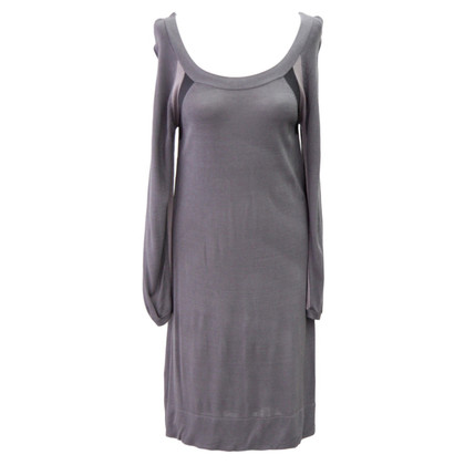 Comptoir des Cotonniers Knitted dress in gray