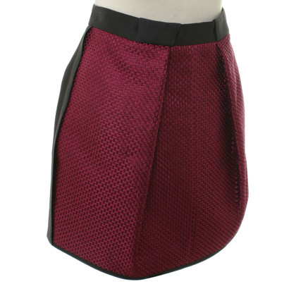 Balenciaga Mini skirt with woven patterns