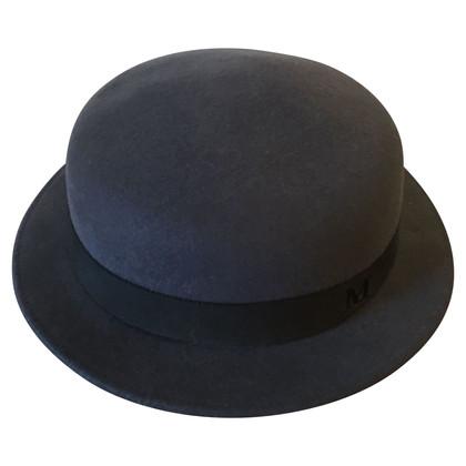 Maison Michel Hat in dark gray