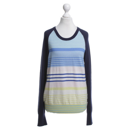 Equipment Sweater with striped pattern